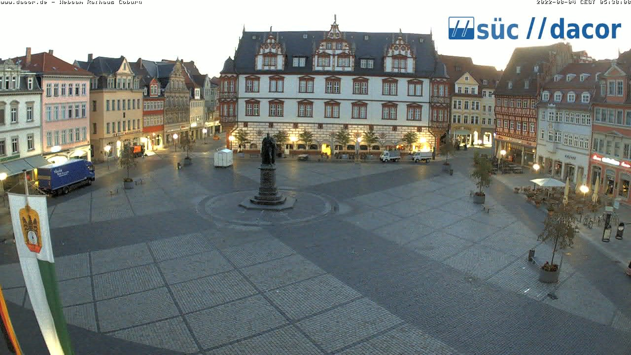 webcam markt coburg allemagne coburg. Black Bedroom Furniture Sets. Home Design Ideas